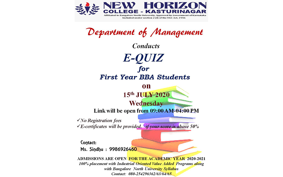 equiz first year bba